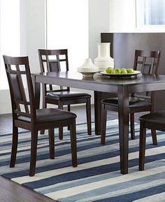 Room EssentialsTM Oakview 6 Piece Sling Patio Dining Furniture Set Small Enough For Our Little
