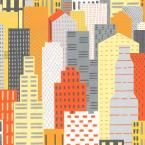 8 in. x 10 in. Laminate Sample in Big City Landscape with Matte, Big City (Landscape)