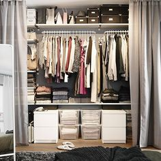 """""""A little bit of organization inspiration to kick off #OrganizeYourHomeDay! Click the link in our bio for storage & organization ideas!"""""""