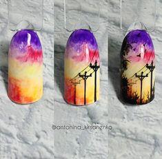 Nail Art Hacks, Gel Nail Art, Acrylic Nails, Pastel Nails, Monogram Nails, Galaxy Nail Art, Nail Drawing, Nail Logo, Japanese Nail Art