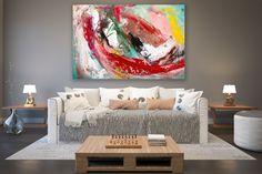 Original Painting on Canvas,Original Abstract Canvas Art,large canvas art,square painting,canvas ori Large Abstract Wall Art, Large Canvas Art, Large Painting, Texture Painting, Wall Canvas, Painting Canvas, Large Art, Knife Painting, Acrylic Canvas