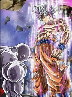 Goku Dragon Ball Super by mr. Dragon Ball Gt, Tatoo Naruto, Goku Vs Jiren, Akira, Super Anime, Anime Art, Wallpaper, Drawings, Artwork