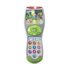 LeapFrog Scout's Learning Lights Remote (English Version) in Electronics for Kids. Toddler Learning, Fun Learning, Toddler Stocking Stuffers, Best Toddler Toys, Toddler Daycare, Toddler Stuff, Girl Toddler, Educational Toys For Toddlers, Preschool Toys
