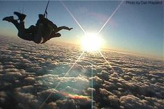Sky Dive - with Wesley...
