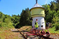 Visit Southern Norway: Rail bike adventure in Flekkefjord