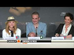 ▶ Cannes 2014 SILS MARIA Conférence de presse - YouTube Sils Maria, Cannes 2014, Competition, Clouds, Film, Movie, Film Stock, Cinema, Films