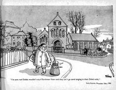 1964 Giles cartoon featuring a Dalek #doctorwho