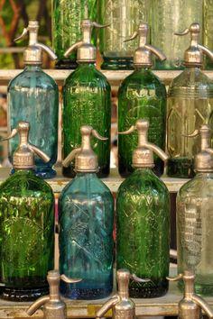 antique soda syphons