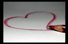 Fotos de Amor: un corazón dibujado. Imagenes para compartir con tus amigos en Facebook, Twitter, Google+. Imagenes de Amor con fraces lindas para compartir