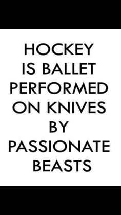 Well that's one way of looking at it. Although, I don't think they have 2 minute penalties for roughing in Ballet.