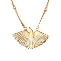 Phoenix Fan Necklace