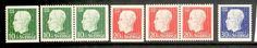 Sweden / Sverige Gustav V birthday stamps 1948. Complete set. Facit 382-384