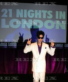 Prince Announces 21 Nights Of Music In London shows ; 8 May 2007