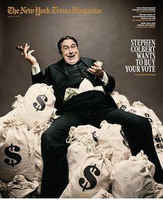 Stephen Colbert buys votes