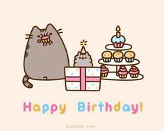 Happy Birthday, Pusheen.