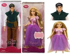 Germanic Princess Rapunzel a longest-of blonde damsel and Germanic Princer Flynn Ryder, short-of ravened knight