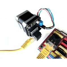 Use an cable for drop-in replacement of stepsticks! Power over Signals over Two parts required (Stepstick Shield & uStepper Shield) - see drop-down menu to the right. Cnc Projects, Arduino Projects, Cnc Lathe, Cnc Router, Diy Electronics, Electronics Projects, Homemade Cnc, Cnc Programming, Cnc Manufacturing