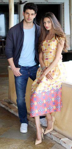Athiya Shetty, Sooraj Pancholi at #Hero promotions.