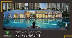 Take a break from the exhausting daily routine and enjoy a blissful splash in the Olympic-sized Swimming Pool at Runwal Bliss.