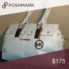 Michael Kors purse White leather Michael Kors Bags Shoulder Bags