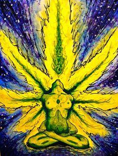 Beautiful Marijuana Art - CannabisTutorials.com