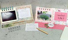 Anleitung: Easel-Card mit Mini Kalender   Der Scrapbook Laden Blog Easel Cards, Scrapbook, Mini, Blog, Paper, Book Folding, Stencils, Calendar, Tutorials