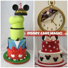 Disney cake magic