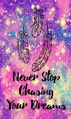 Never Stop Galaxy IPhone Android Wallpaper I Created For The App CocoPPa