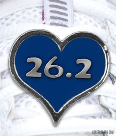 We love this 26.2 Shoelace charm!