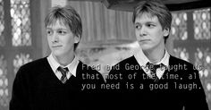 Fred and George Weasley Harry Potter List, Harry Potter Feels, Harry Potter Quotes, Harry Potter Characters, Familia Weasley, Welcome To Hogwarts, Harry And Ginny, Phelps Twins, Weasley Twins