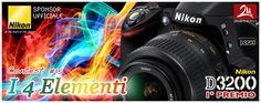 Partecipa al concorso di ZMPHOTO e vinci una fantastica Nikon D3200.    ZM PHOTO CONTEST - Partecipate and Win a New Nikon D3200