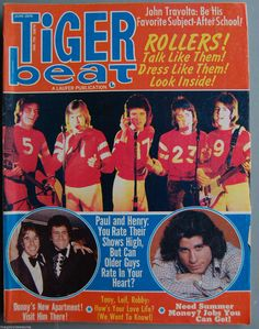 Tiger Beat June 1976 Issue Bay City Rollers Talk and Dress Like Them   eBay