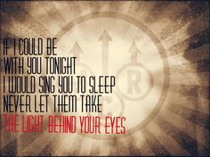 MCR - The Light Behind Your Eyes