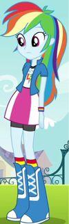 Rainbow Dash full body EG