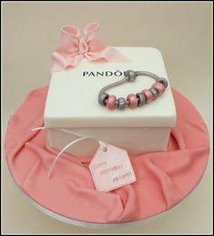 Charm-ing ... Pandora cake https://www.facebook.com/SugarandSpiceGourmandise
