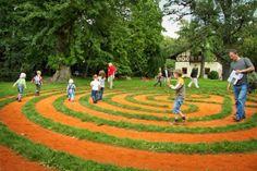 zámek Loučeň - labyrinty a bludiště