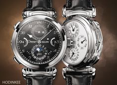 The Grandmaster Chime Reference 6300G–001 The Most Complicated Patek, Now In White Gold