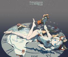 Puzzle and Dragons - Myr by nnnnoooo007