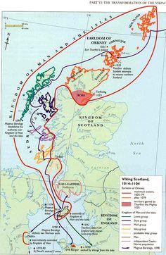 Vikings in Scotland, 1014-1104