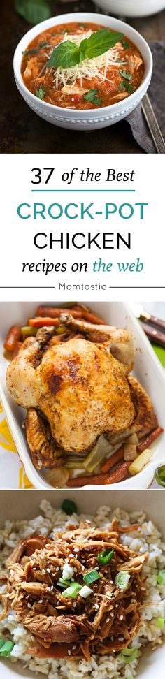 As a chicken slow cooker chicken enthusiast, I've scoured the web for the best Crock-Pot chicken recipes from some of my favorite bloggers. So let's get to menu planning and try something new and different…and let's not forget, easy.