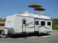Rv roof patios