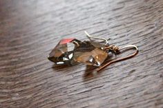 Swarovski Crystal Earrings on 14k/20 by MyPrettyChicBoutique