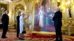 Harper presents Queen with portrait of herself | CTV News