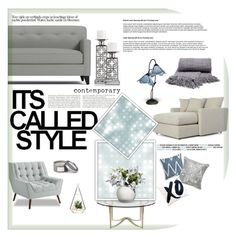 """""""Styled."""" by samantha-1221 ❤ liked on Polyvore featuring interior, interiors, interior design, home, home decor, interior decorating, Bernhardt, SCARLETT, Pier 1 Imports and Dale Tiffany"""