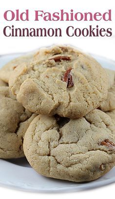 Old Fashioned Cinnamon Cookies