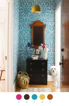 Entry ways should be adorable.  And should probably include a shaggy dog.