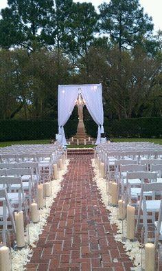 My DREAM wedding ceremony...doable, right?