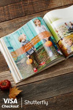 Easily do more with the photos you love. Customize your own Photo Book here. Simply pay with Visa Checkout on shutterfly.com and enjoy $20 off your next order. Offer valid through 11/3/15 or while supplies last. Limit 1 per person. Full terms at www.shutterfly.com/visacheckout.