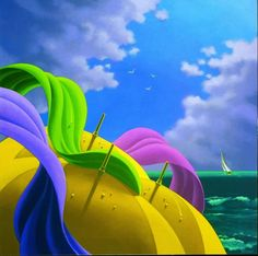 Claude Theberge ~ Canadian Abstract painter | Masterpiece of Art