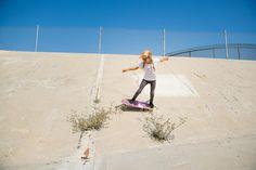 Female Skateboarders Skating Iconic 70's Skate Spots - Part 2.